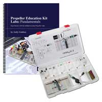 Parallax, Inc. Propeller Education Kit - 40 pin DIP Version