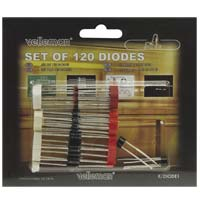 Velleman 120 Piece Diode Assortment Pack