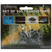 Velleman Assorted Transistors 100-Pack