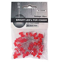 Velleman Red LEDs - 50 Pack