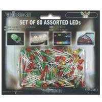 Velleman Assorted LEDs 80-Pack
