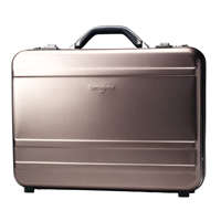 "Samsonite Delegate II Attache Fits Screens up to 17"" - Gun Metal Gray"