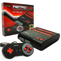 Retro Duo NES & SNES Console Black/Red