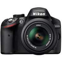 Nikon D3200 24.2 Megapixel Digital SLR Camera - Black