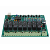Velleman 8-Channel USB Relay Card Kit