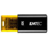 Emtec International C600 Click 16GB USB 2.0 Flash Drive EKMMD16GC600