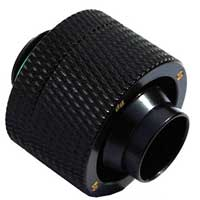 "Ultimate G 1/4"" Thread 1/2"" ID x 3/4"" OD Compression Fitting - Matte Black (BP-MBCPF-CC5)"