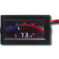 FrozenCPU Digital Gauge-Syle Thermometer