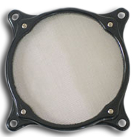 ModRight FilterRight 80mm Black Aluminum Fan Filter