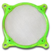 Lamptron 120mm Steel Mesh Fan Filter UV Green