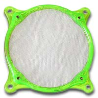 Lamptron 80mm Steel Mesh Fan Filter UV Green