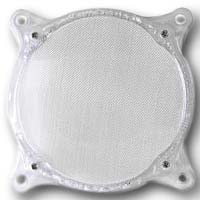 Lamptron 80mm Steel Mesh Fan Filter Clear