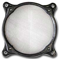 Lamptron 80mm Steel Mesh Fan Filter Black
