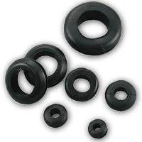 "The Best Connection Assorted Vinyl Grommets with 1/4"", 5/16"", 3/8"" Mounting Holes 13 Pack"