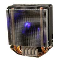 Delux Infinity Twin Tower Heatsink with Fan