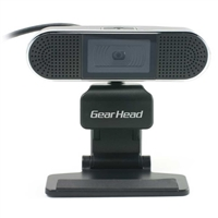 Gear Head WC7500HD HD WebCam with Stereo Microphones