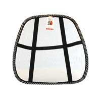 Inland Black & White Ergonomic Lumbar Back Support