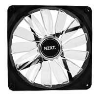 NZXT Airflow Series FZ-140mm White LED Case Fan