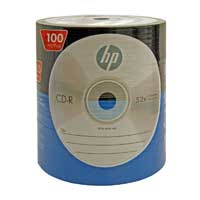 HP CD-R 52X 80min 700MB 100 Pack