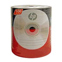 HP DVD-R 16X 4.7GB 100 Pack