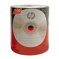 HP DVD-R 16X 4.7GB 100 Pack