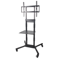 "Metra Home Theater Group AS-RC3260 3.1/2.1 Audio Solutions Rolling Cart holds 32""- 60"" Plasma/LCD/LED Televisions"