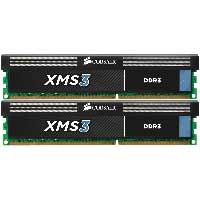 Corsair XMS3 16GB DDR-1333 (PC-10600) CL9 Dual Channel Desktop Memory Kit (Two 8GB Memory Modules)