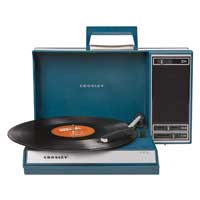 Crosley Crosley Spinnerette USB Turntable- Blue