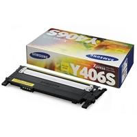 Samsung CLT-Y406S/XAA Yellow Laser Toner