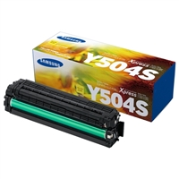 Samsung CLT-Y504S Yellow Laser Toner Cartridge