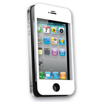 Qmadix Tempered Tech-Armor Tempered Glass Screen Protector White