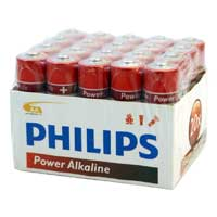 Philips AA Alkaline Battery 20-Pack