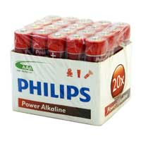 Philips AAA Alkaline Battery 20-Pack