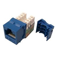 Shaxon CAT6 RJ45/110 Keystone Jack Blue Single Pack