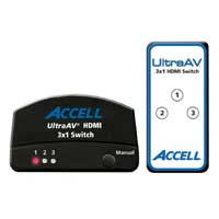 Accell Accell Ultra AV High Speed HDMI 3 x 1 Switch