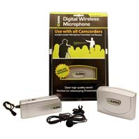 Sima Wireless Microphone for Digital Camcorders