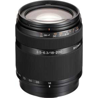 Sony 18-200mm f/3.5-6.3 Zoom Lens
