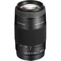 Sony 75-300mm f/4.5-5.6 Telephoto Zoom Lens