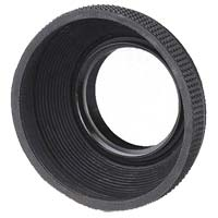 Dot Line 55mm Rubber Lens Hood