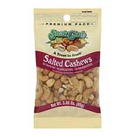Continental Concession Supplies Snak Club Salted Cashews