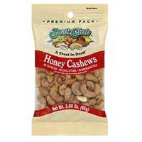 Continental Concession Supplies Snak Club Honey Cashews