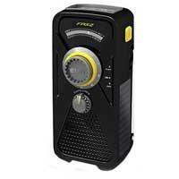 Eton FRX2 Weather Radio with USB Smartphone Charger and LED Flashlight Black