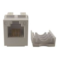 Shaxon BM303W610-B Category 3 Keystone Jack RJ-12 to 110 White