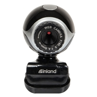 Inland Pro 300K USB 2.0 Webcam with Microphone