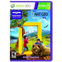 Microsoft Kinect Nat Geo TV (Kinect for Xbox 360)