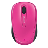 Microsoft L2 Wireless Mobile Mouse 3500 - Magenta Pink