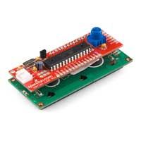 SparkFun Electronics Serial LCD Kit