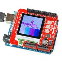 SparkFun Electronics Color LCD Shield