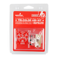 SparkFun Electronics Tri-Color LED Breakout Kit