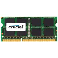Crucial 8GB DDR3-1333 (PC3-10600) CL9 SO-DIMM Laptop Memory Module (Apple Memory)